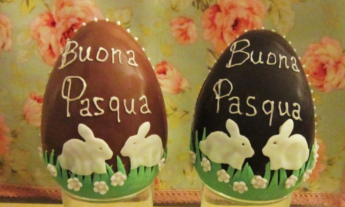 Uova di Pasqua decorate - Cake's Blues